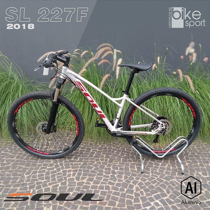 BIC. ALUMINIO SL227F ALTUS 27V CINZA/VERMELHO/GRAFITE