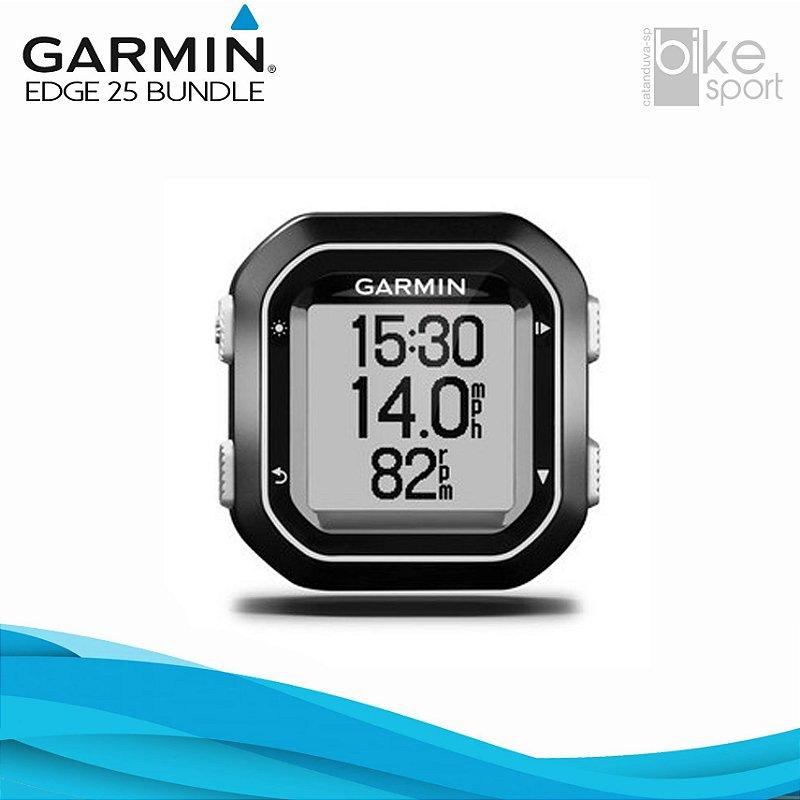 CICLOCOMPUTADOR COM GPS GARMIN EDGE 25 BUNDLE)