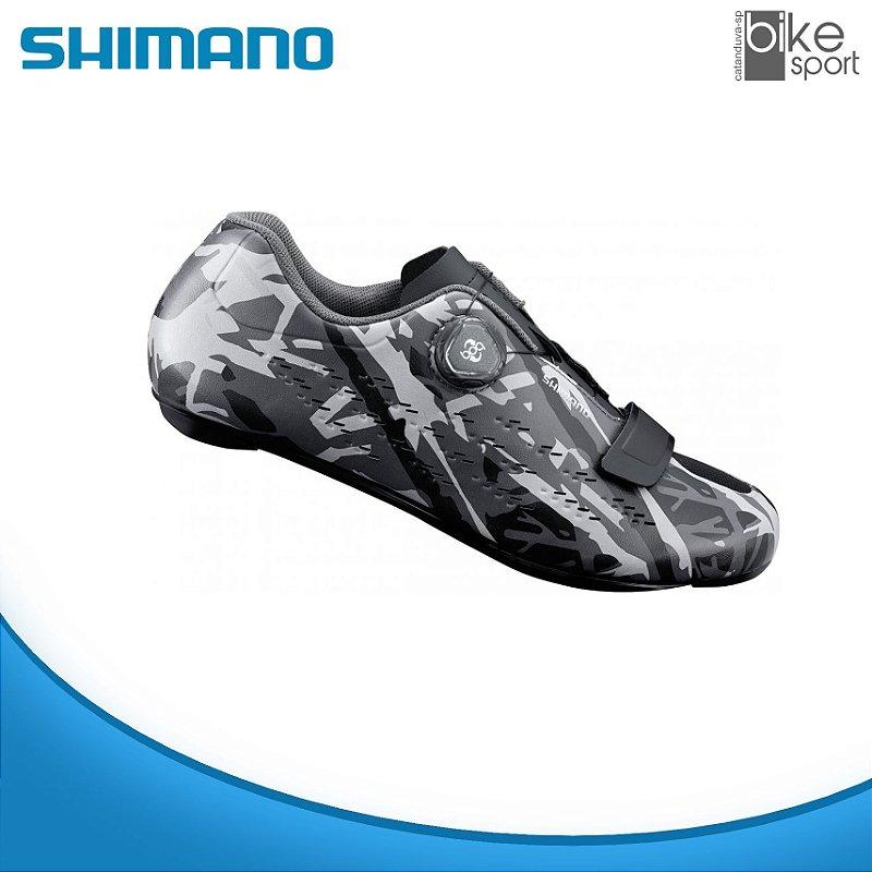 SAPATILHA ROAD SH-RP501 CINZA CAMUFLADO