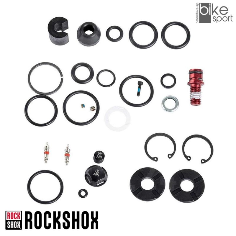 KIT REPARO SUSPENSAO ROCK SHOX SID O-RINGS 80-100MM
