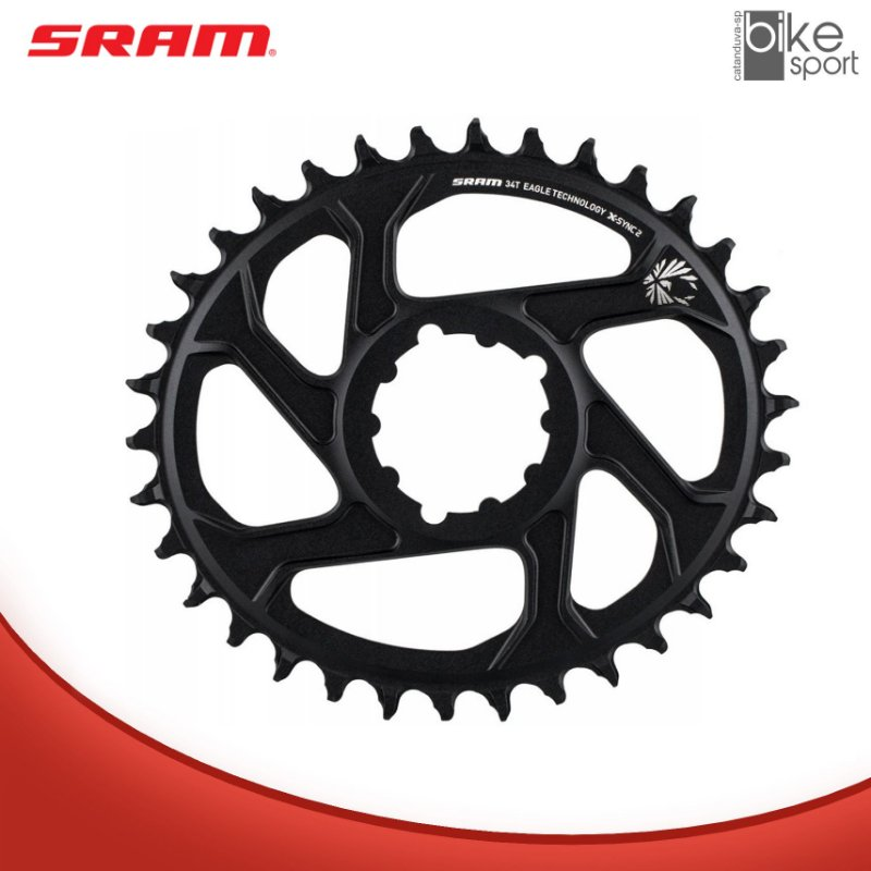 COROA SRAM EAGLE OVAL BOOST 34T DIRECT 3MM OFFSET