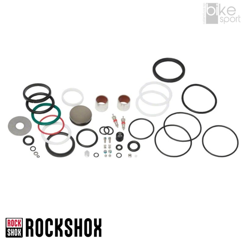 Kit Reparo Amort Rockshox Monarch RT3/RT/R (2011) Completo
