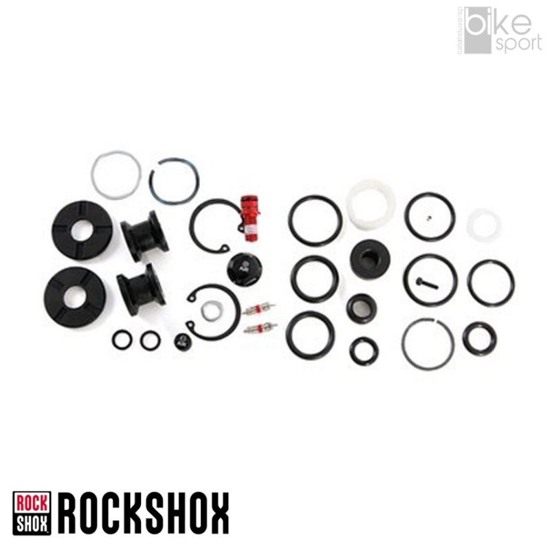 Kit Reparo Susp Rockshox Reba Dual Air/Motion Cont O-Rings