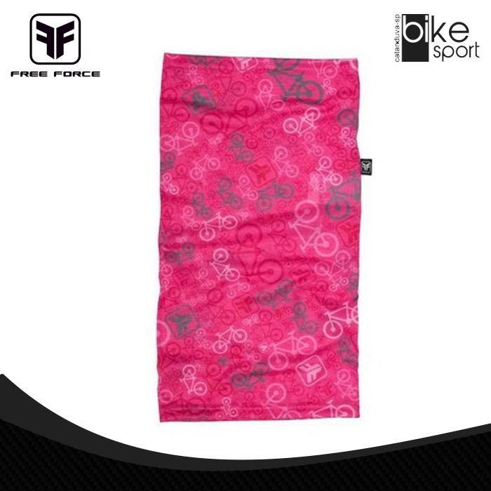 BANDANA BICYCLE - 84-ROSA - U