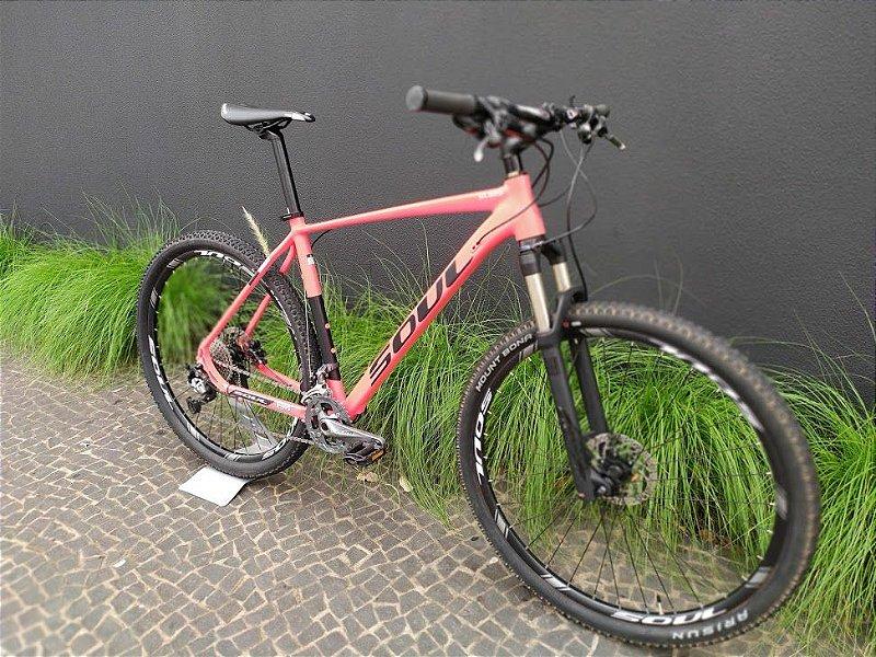 Bicicleta SOUL SL329 Vermelha e Preta Aro 29 Tamanho XL (21)