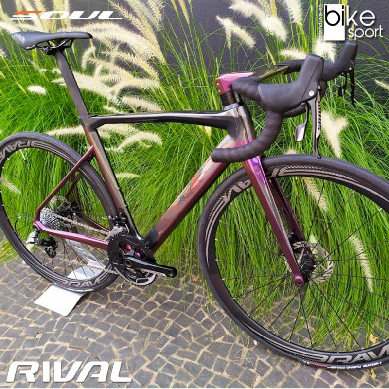 Bicicleta Road 3R5 Aero -  Sram Rival Disc Tam 52