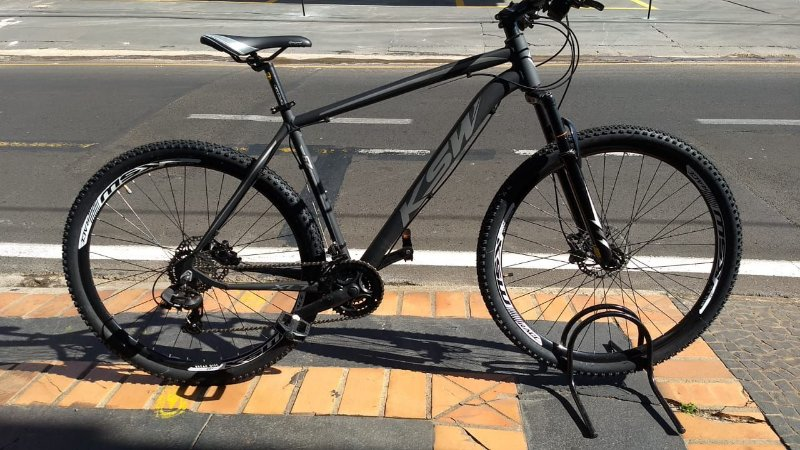Bicicleta KSW XLT Grafite Fosco Aro 29