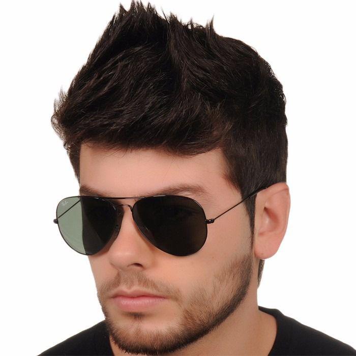 f735e4bb8 Óculos de Sol Ray-Ban Aviador Preto Rb3026 e 3025 Degradê Masculino e  Feminino