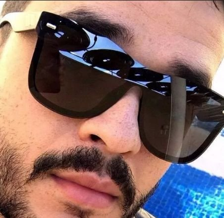 0aa54471a Óculos de Sol Ray-Ban Blaze Wayfarer Preto Quadrado Masculino e Feminino