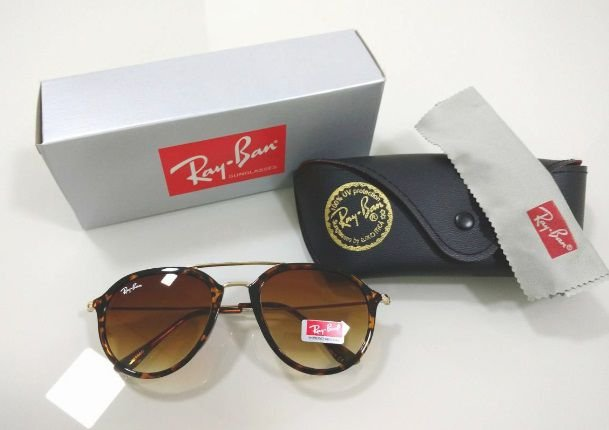 Óculos de Sol Aviador Ray Ban Tartaruga (Oncinha) Lançamento Masculino e  Feminino 0f502e425b