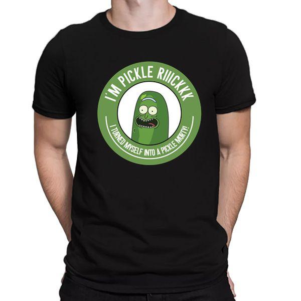 Camiseta Unissex - I'm Pickle Rick