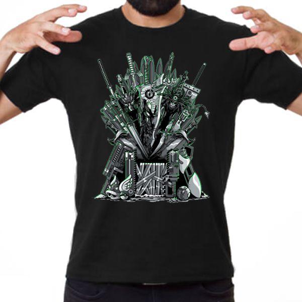 Camiseta Unissex - Throne of Games