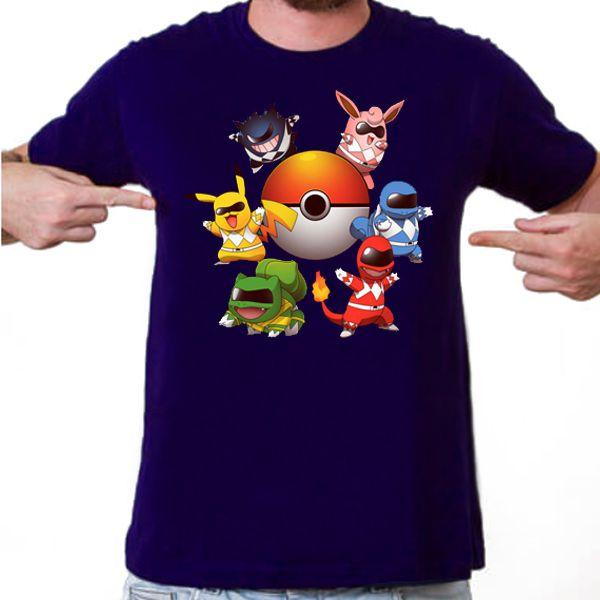 Camiseta Masculina - PokeRangers