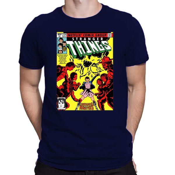 Camiseta Unissex -Heros and Monsters