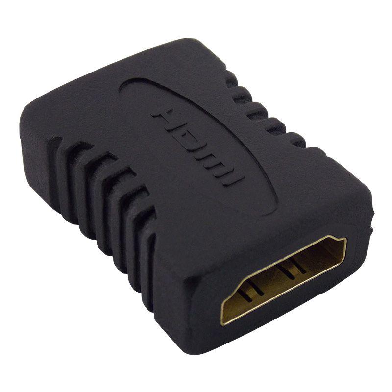 Adaptador HDMI Fêmea + HDMI Fêmea (Emenda)