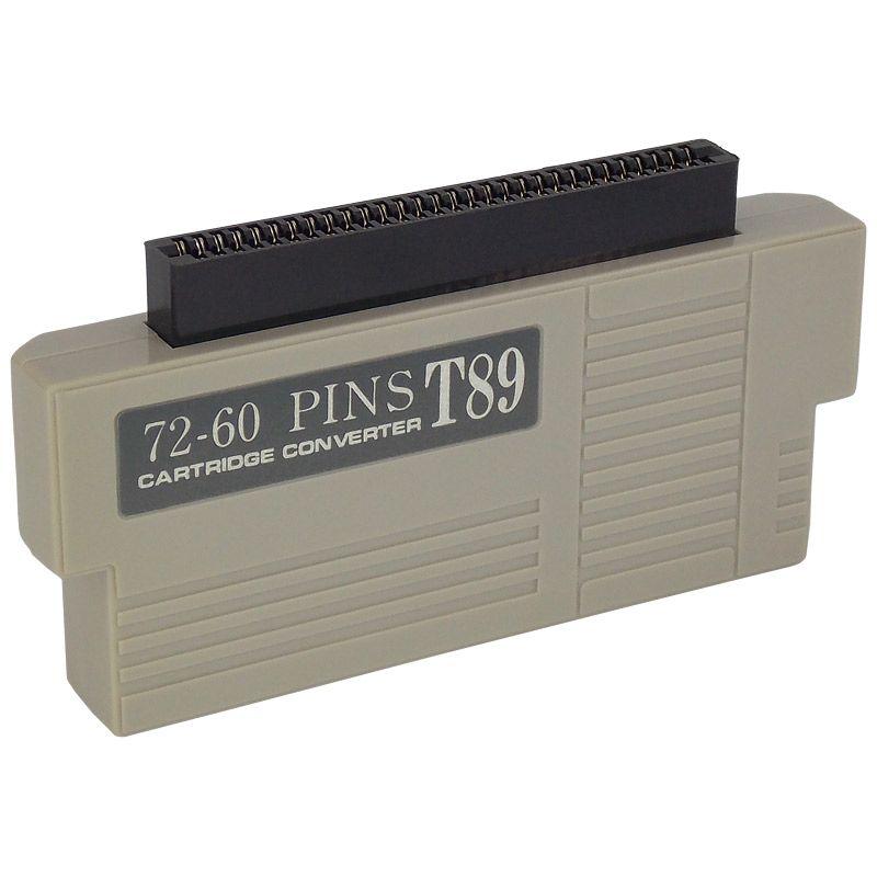 Adaptador de Cartucho NES 60 Pinos (Japonês) para NES 72 Pinos (Americano)
