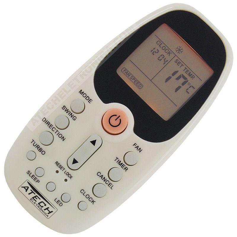 Controle Remoto Ar Condicionado Midea R06-BGCE