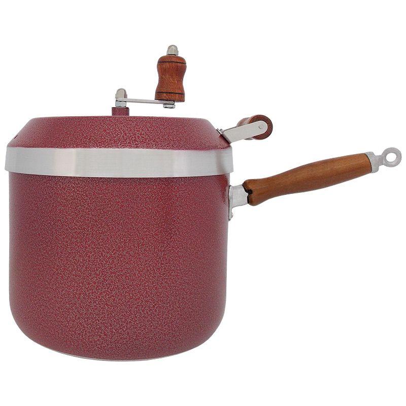Panela Pipoqueira de Alumínio Capacidade 6 Litros - Vermelho