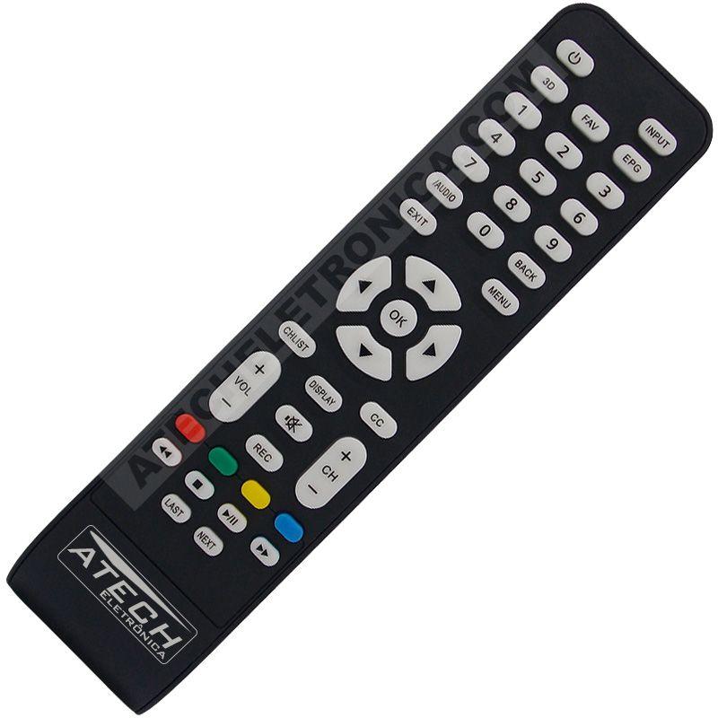 Controle Remoto TV LED AOC CR4304 / LE32D1452 / LE48D1452 / ETC