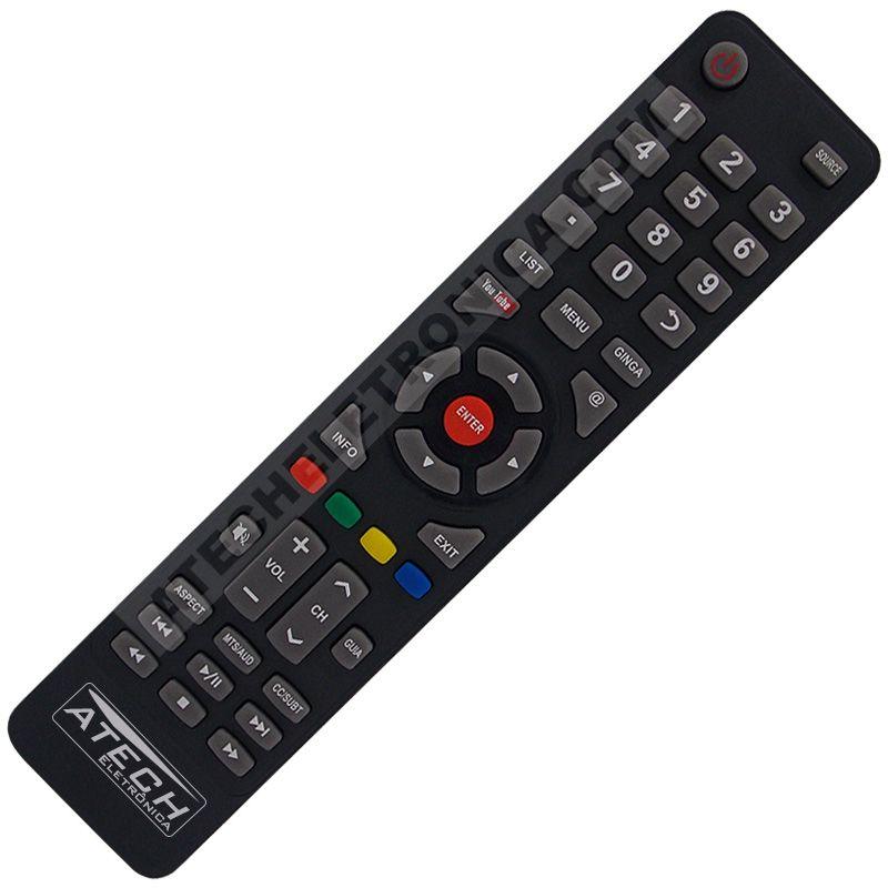 Controle Remoto TV LED Philco PH48S61G com Youtube (Smart TV)
