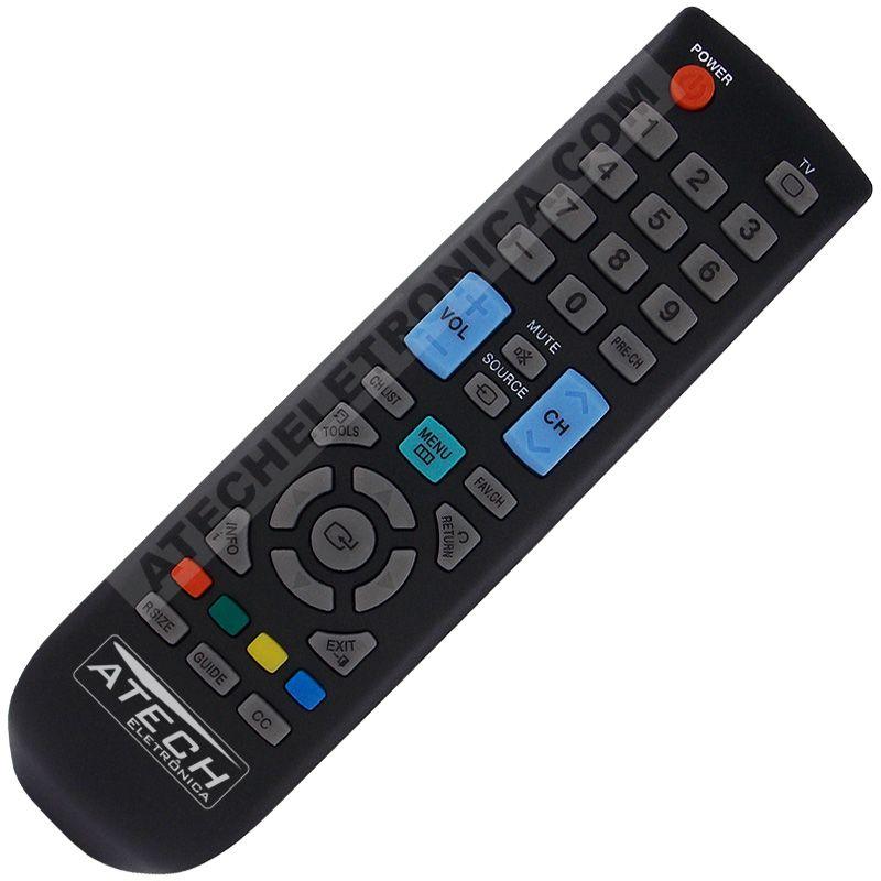 Controle Remoto TV LCD / LED Samsung BN59-00869A / BN59-00857A