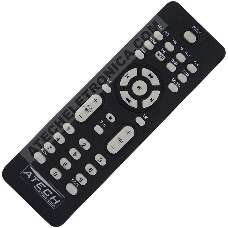 Controle Remoto Aparelho de Som Philips FWM396 / FWM416