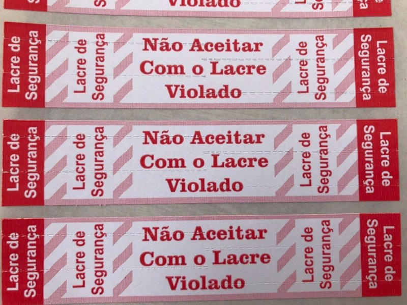 Lacre Pizza / Alimentos ( Rolo 1.000 und )