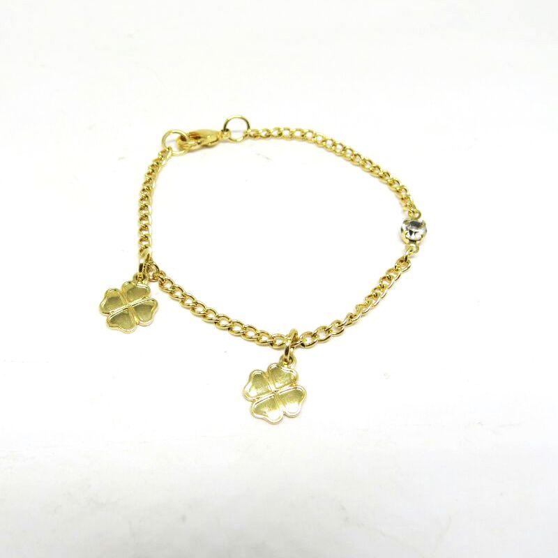 Pulseira de coruja folheado em ouro 18k - Diferencial Jóias ... 31b910e909