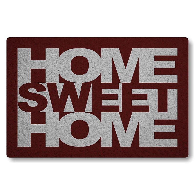 Tapete Personalizado Home Sweet Home - Bordo