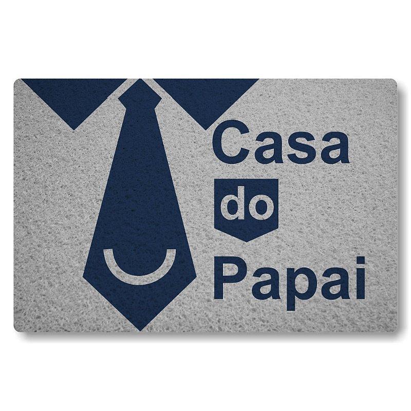 Tapete Personalizado Casa do Papai - Prata