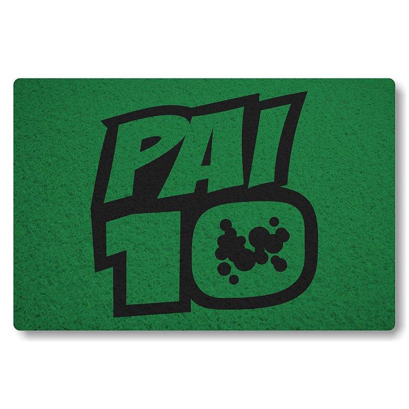 Tapete Personalizado Pai 10 - Verde Bandeira