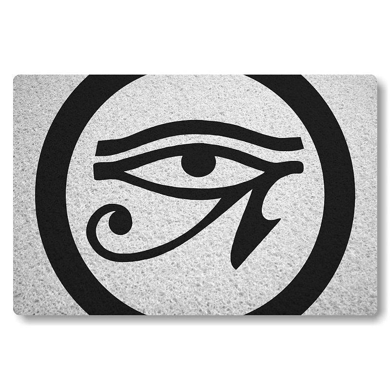 Tapete Personalizado Olho de Horus - Branco