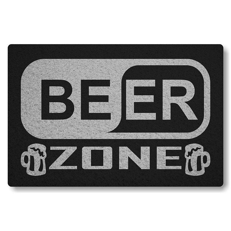 Tapete Personalizado Beer Zone - Preto