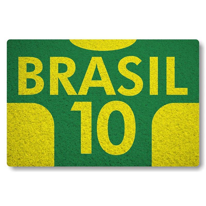 Tapete Personalizado Brasil 10 - Verde Bandeira