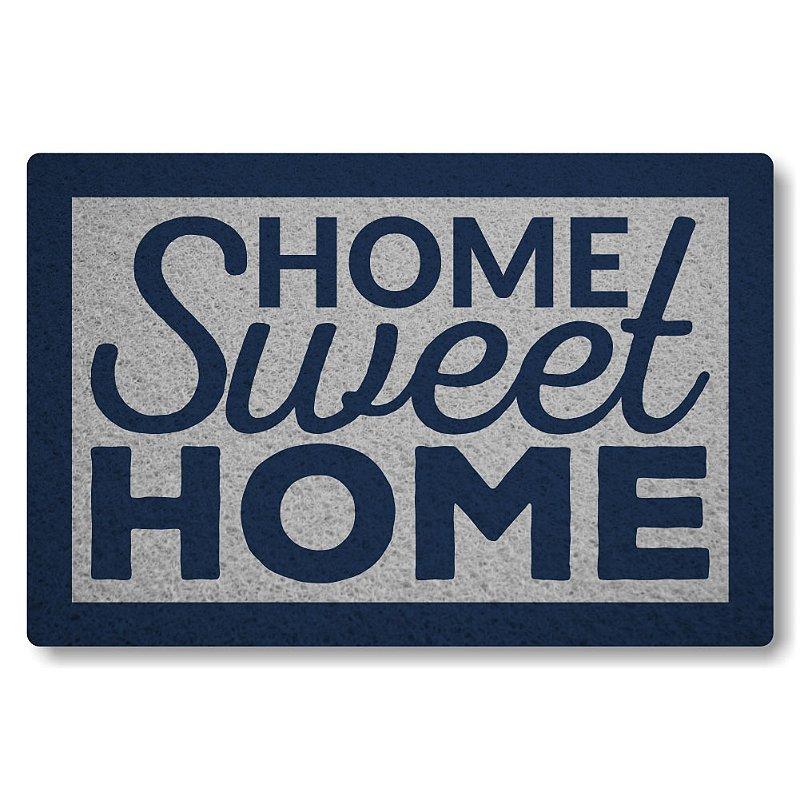 Tapete Personalizado Home Sweet Home II - Prata