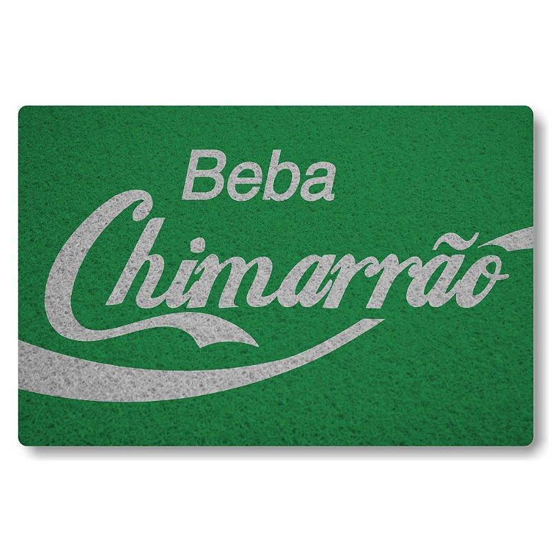 Tapete Personalizado Beba Chimarrao Verde Bandeira