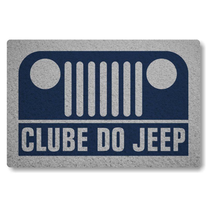 Tapete Personalizado Clube do Jeep - Azul Marinho