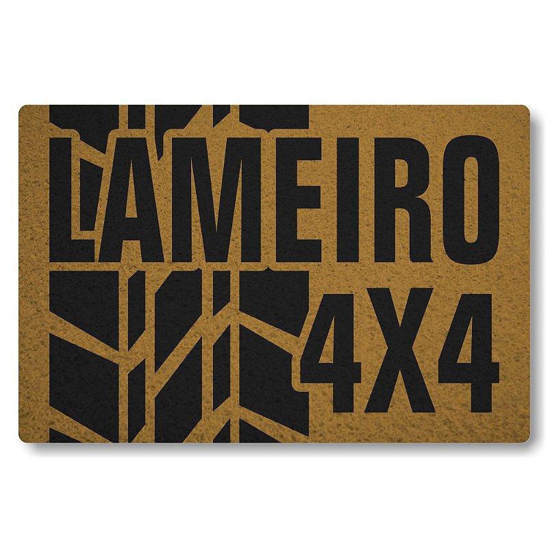 Tapete Personalizado Lameiro 4x4 - Ouro