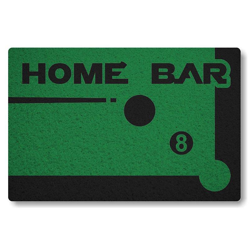 Tapete Personalizado Home Bar - Verde Bandeira