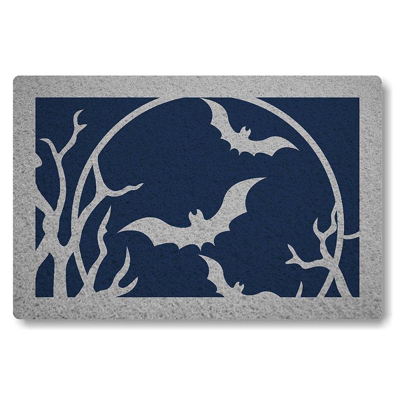 Tapete Personalizado Morcegos - Azul Marinho