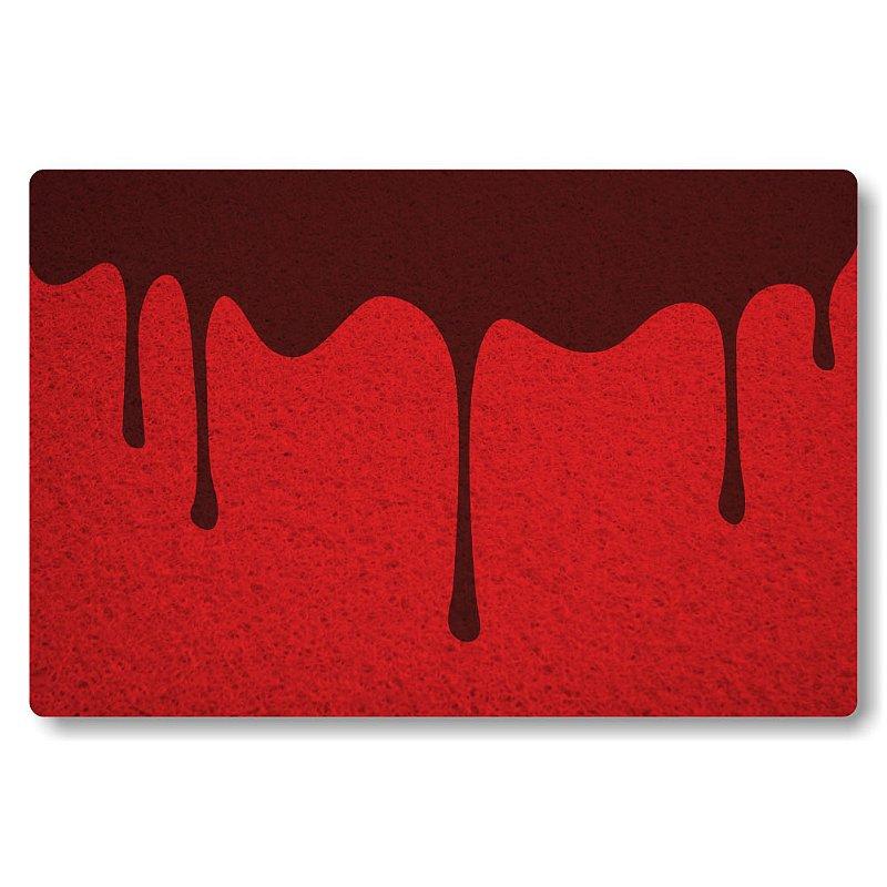 Tapete Personalizado Sangue - Bordo