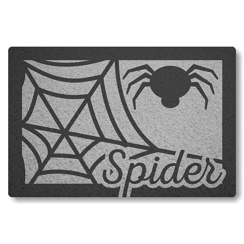 Tapete Personalizado Spider - Prata