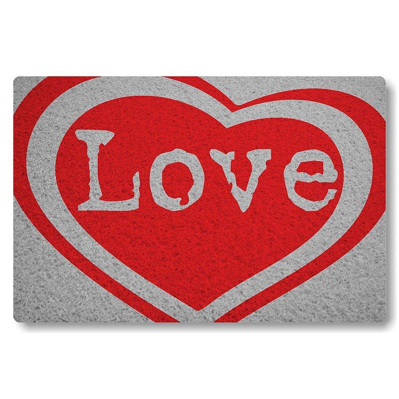 Tapete Personalizado Love - Prata