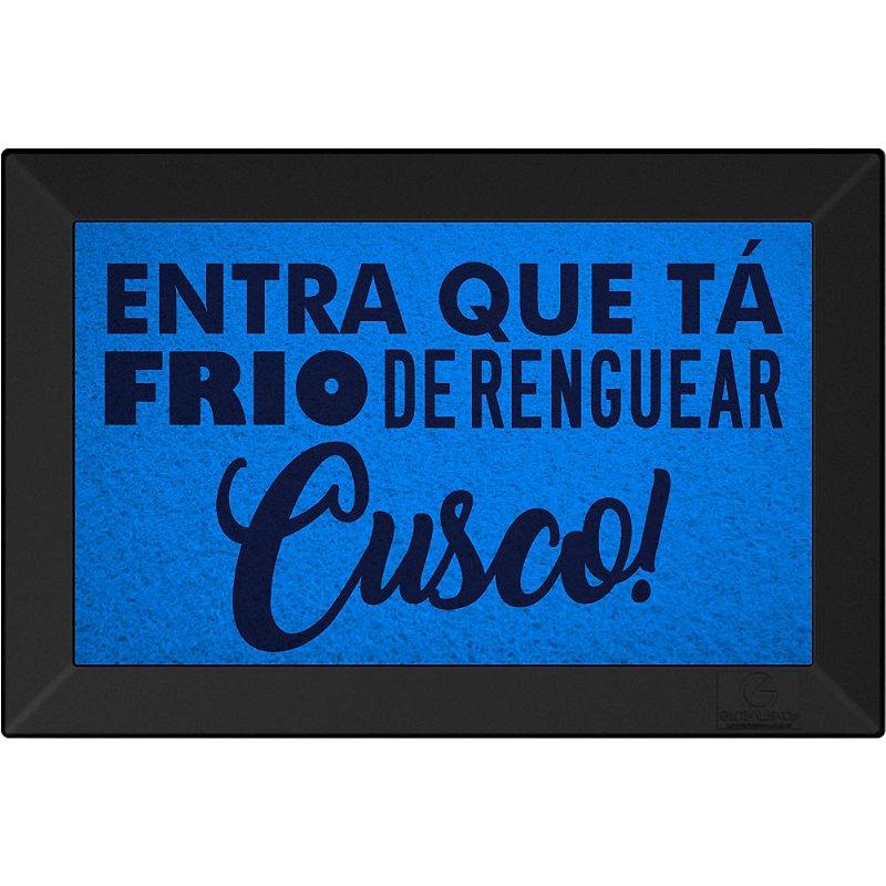 Tapete Personalizado Entra Que Ta Frio de Renguear Cusco Maritimo