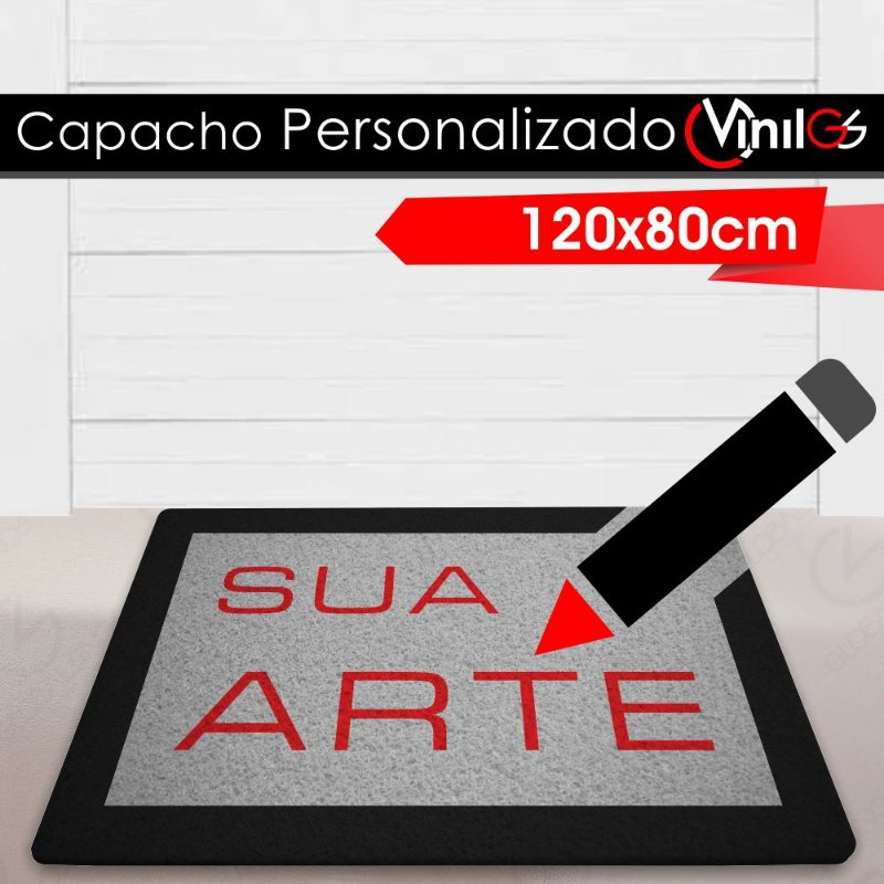 Tapete Personalizado Personalizado Vinil-GS - 120x80cm