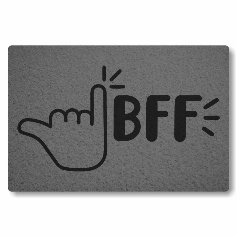 Tapete Personalizado BFF - Best Friends Forever
