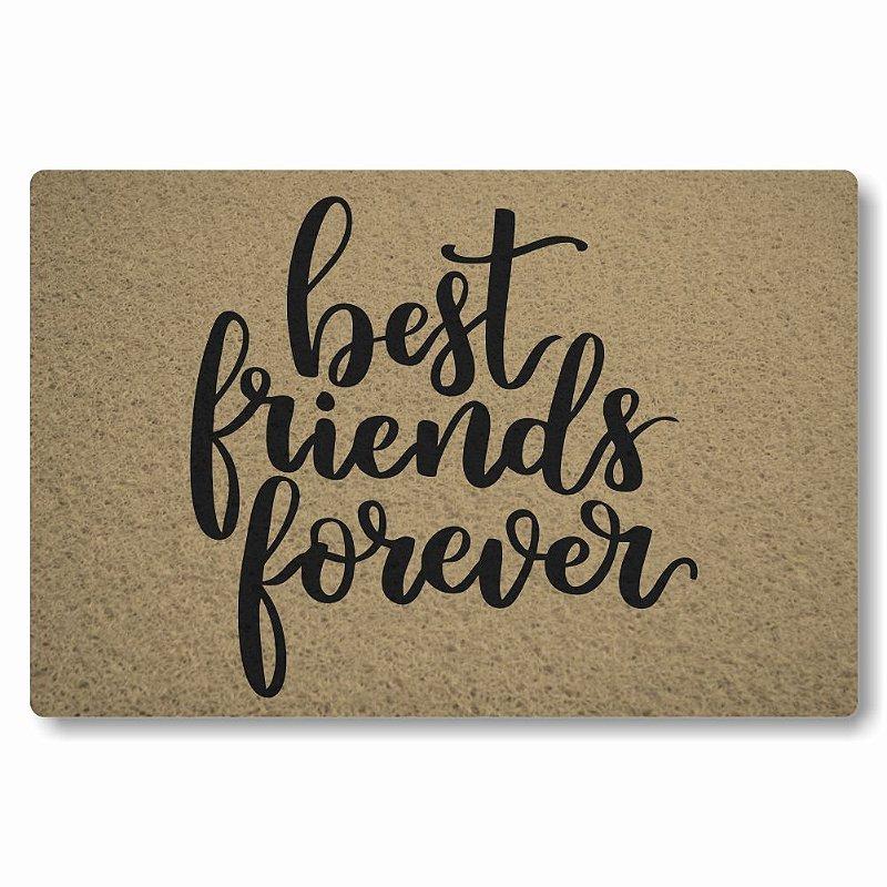 Tapete Personalizado Best Friends Forever