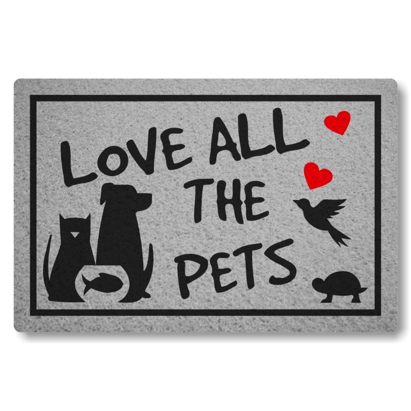 Tapete Personalizado Linha Tapets Love All The Pets