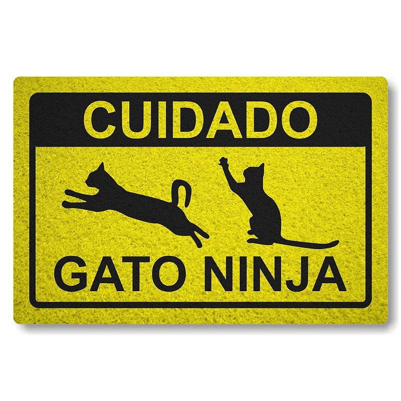 Tapete Personalizado Linha Tapets Gato Ninja