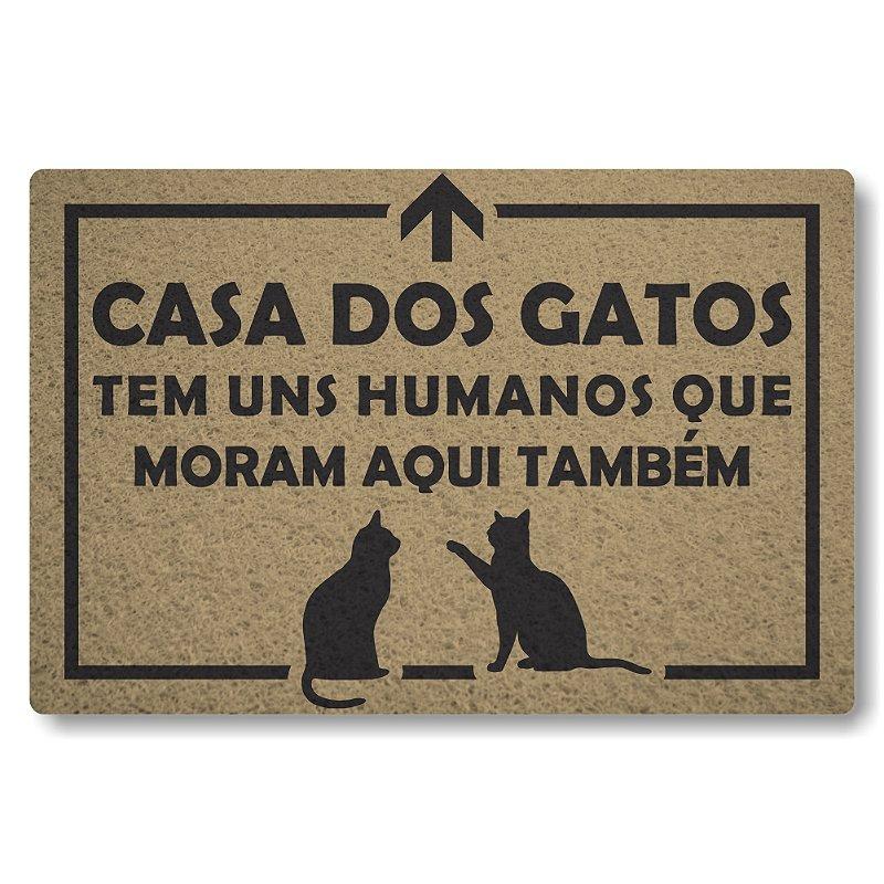 Tapete Personalizado Linha Tapets Casa dos Gatos